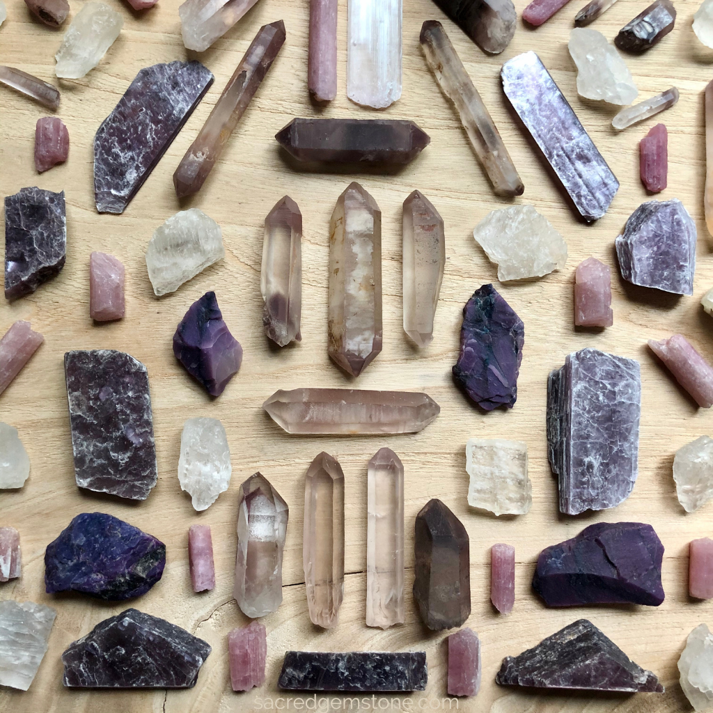 Crystals for Anxiety & Stress relief Lithium minerals