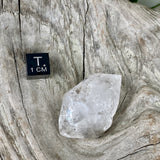 Dumortierite Phantom Quartz Crystal - Double Terminated Elestial