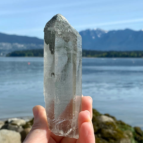 Lithium Phantom Quartz Twin Crystal
