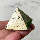 Dioptase Crystal Wire Wrap Pendant