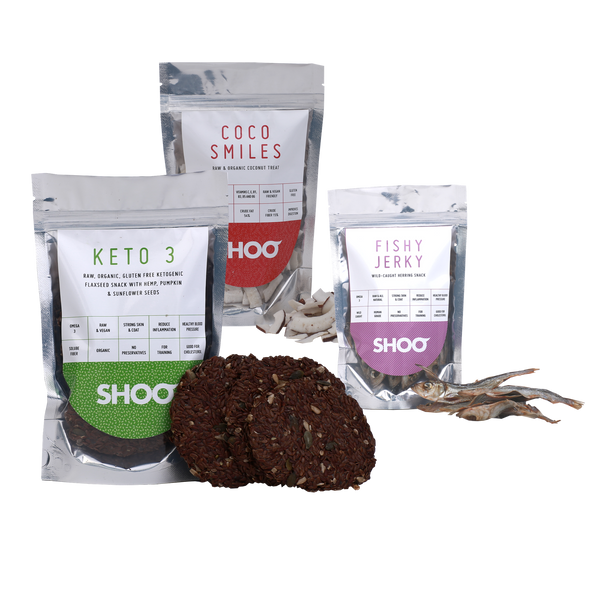 RAW & ORGANIC KETO SNACK PACK