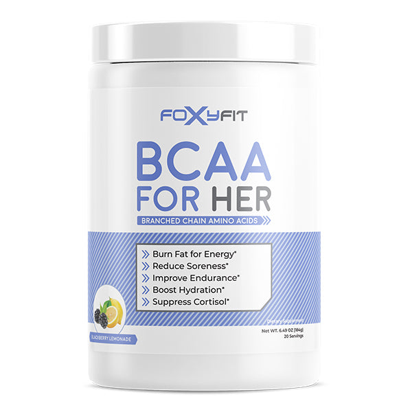 FoxyFit BCAA For Her Blackberry Lemonade