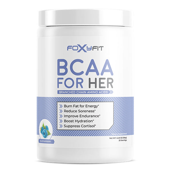 FoxyFit BCAA For Her Blue Raspberry