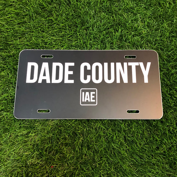 """DADE COUNTY"" auto tags"