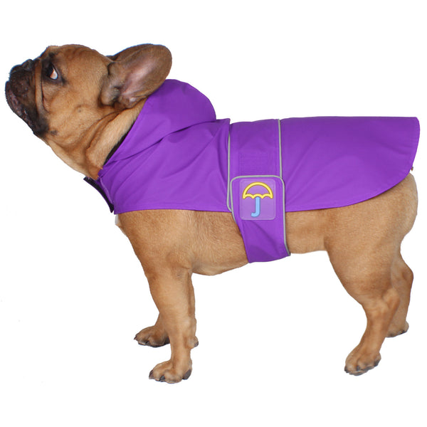Classic Raincoat- Purple