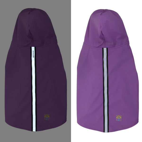 Deluxe Raincoat- Purple