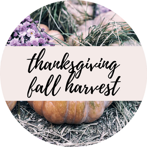 Thanksgiving Fall Harvest Collection