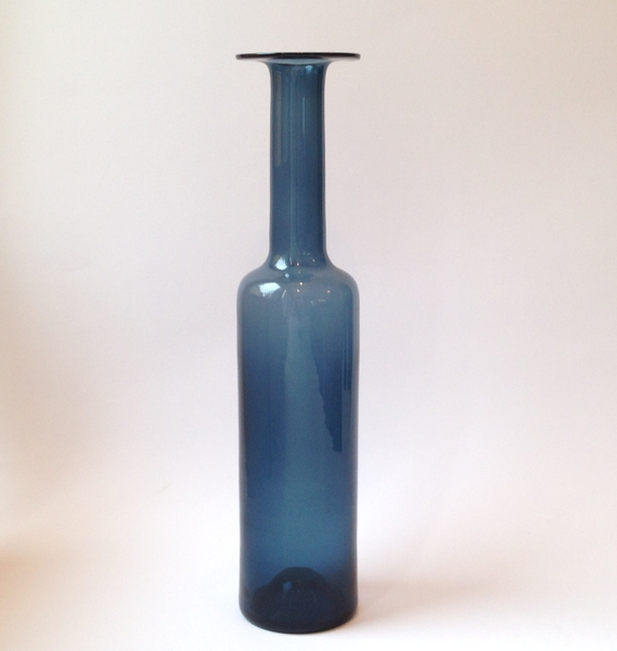 Nanny Still vase / bottle (11), smoky blue