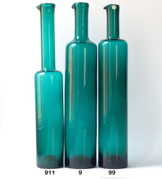 Nanny Still vase / bottle (9), emerald green