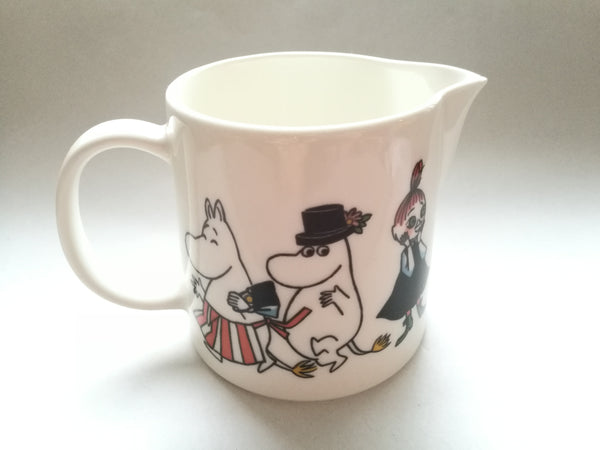 Moomin Jug Happy Family pitcher by Arabia Finland in 1995 – 2001