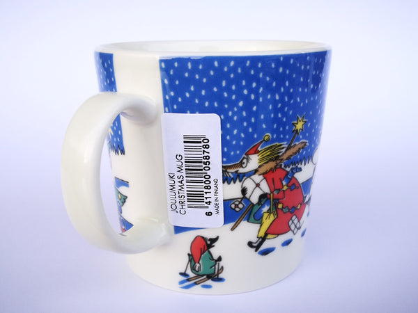 Moomin Christmas mug 2004-2005 NEW
