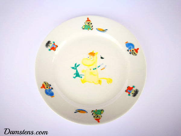50s Moomin plate Snorkmaiden RARE!
