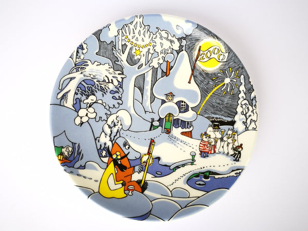 Moomin Wall Plate (large) Millennium LIMITED EDITION in original box
