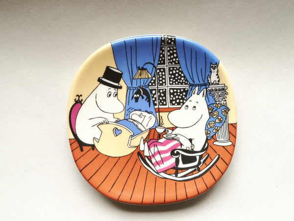 Moomin Wall Plate A Quiet Moment 1995-2002