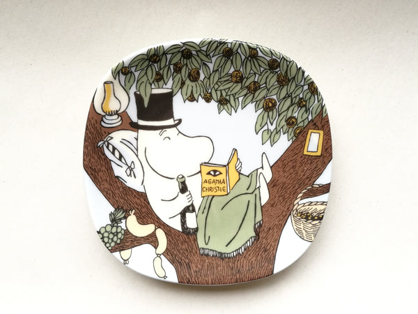 Moomin Wall Plate Back to Nature 1990-1994