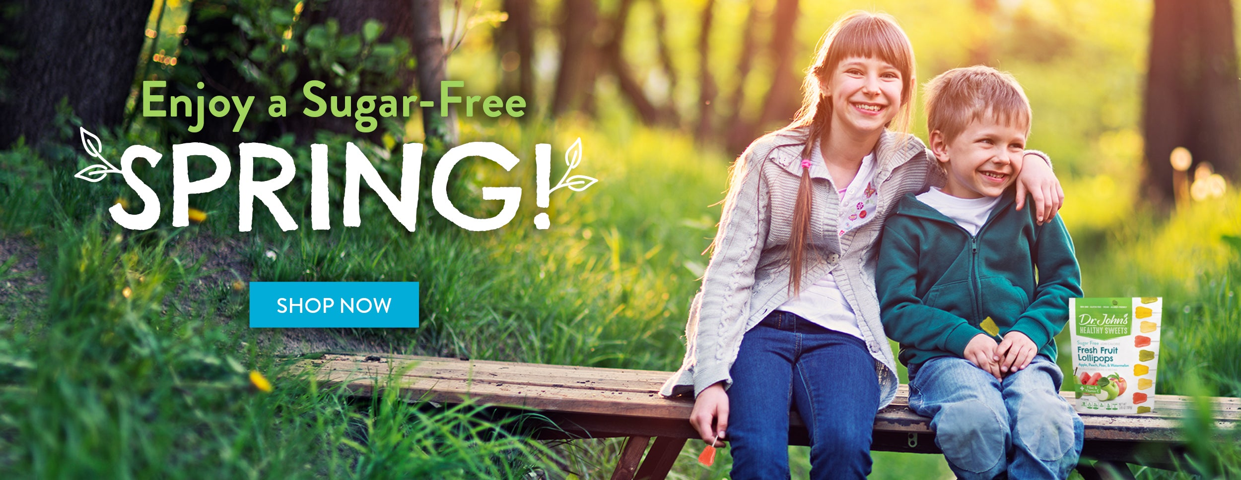 Enjoy a Sugar-Free Spring! Shop Now.
