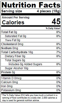 Dr John S Nutrition Information Dr John S Healthy Sweets