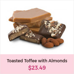 Mother's Day Treats | Toasty Toffee with Almonds | Dr. John's Healthy Sweets