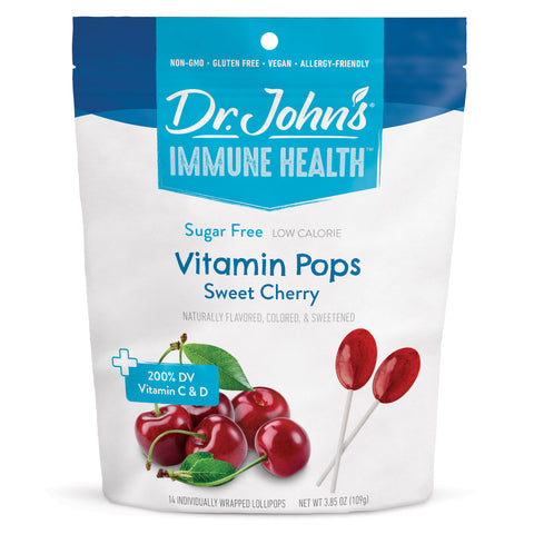 Sweet Cherry Vitamin Pops