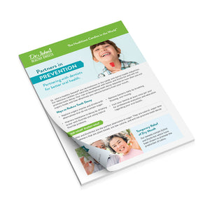 Partner in Prevention Referral Pads | Dr. John's Healthy Sweets