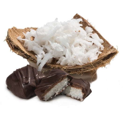 Exotic Coconut Covered in Dark Chocolate | Dr. John's Healthy Sweets