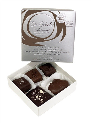 5-Piece Chocolate Sampler Gift Box