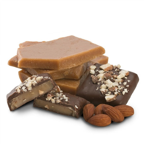 Toasted Toffee with Almonds