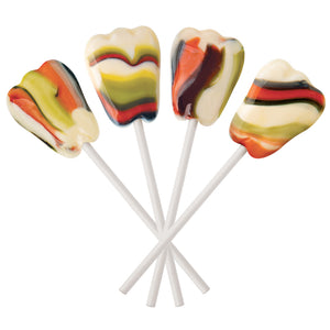 Berry Swirl Tooth Shaped Xylitol Lollipops | Dr. John's Healthy Sweets