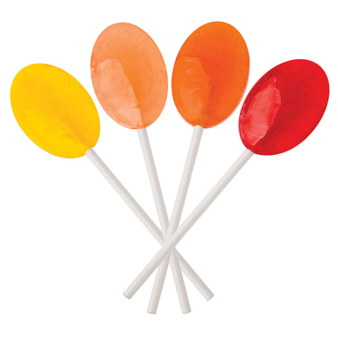 Sunkissed Fruits Collection Oval Lollipops | Dr. John's Healthy Sweets