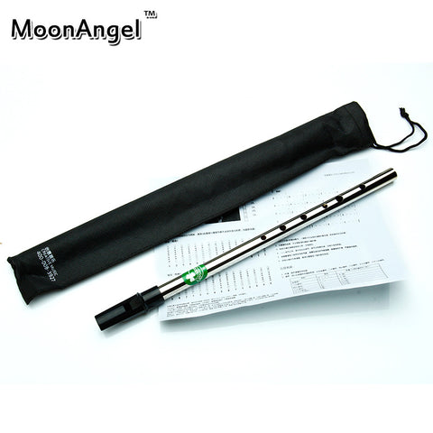 Ireland Musical Instrument Irish Whistle Flute Professional Tin Whistle and Flauta Metal Mini Tinwhistle D Key