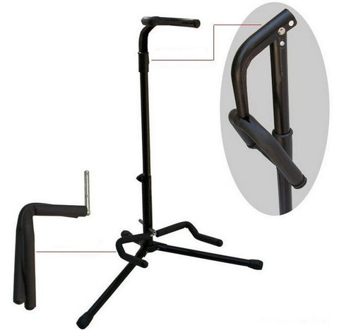 Guitar rack vertical rack folding electric guitar acoustic guitar Stand Guitar Parts Musical instruments accessories - ArtNation
