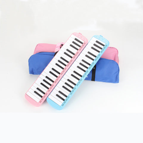 KONGSHENG Melodica 37 Keys Melodica Instrument Pink Blue Wind Musical Instruments Pianica Beginners Kids Gift Student Child