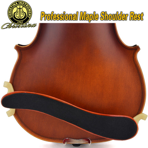 Professional Christina S01 adjustable Maple Violin Shoulder Rest 1/2 4/4 size high quality violin accessories Musical Instrument