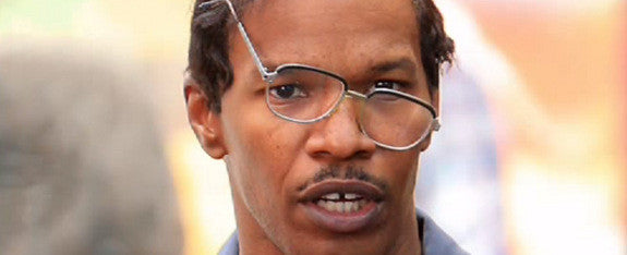 Crooked Glasses Jamie Foxx