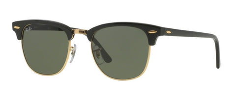 Ray Ban Clubmaster in Crystal Black