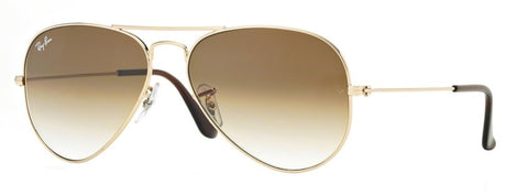 Ray Ban Aviator in Brown Gradient