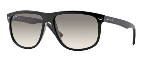 Ray Ban Oversized Plastic Aviator in Crystal Black