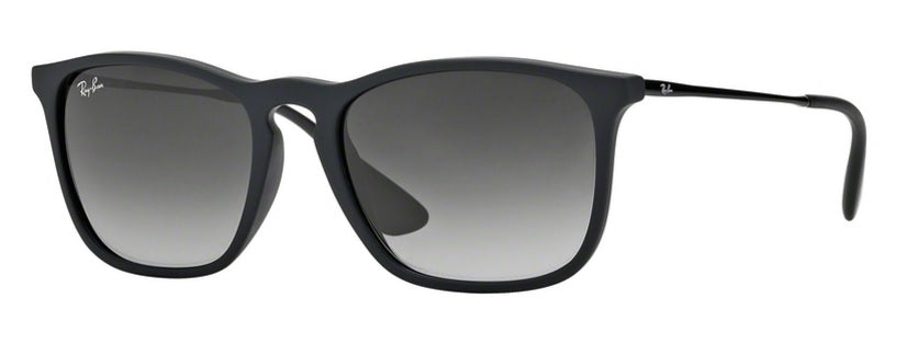 Ray Ban Chris in Rubber Black