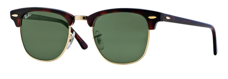 Ray Ban Clubmaster in Polished Havana