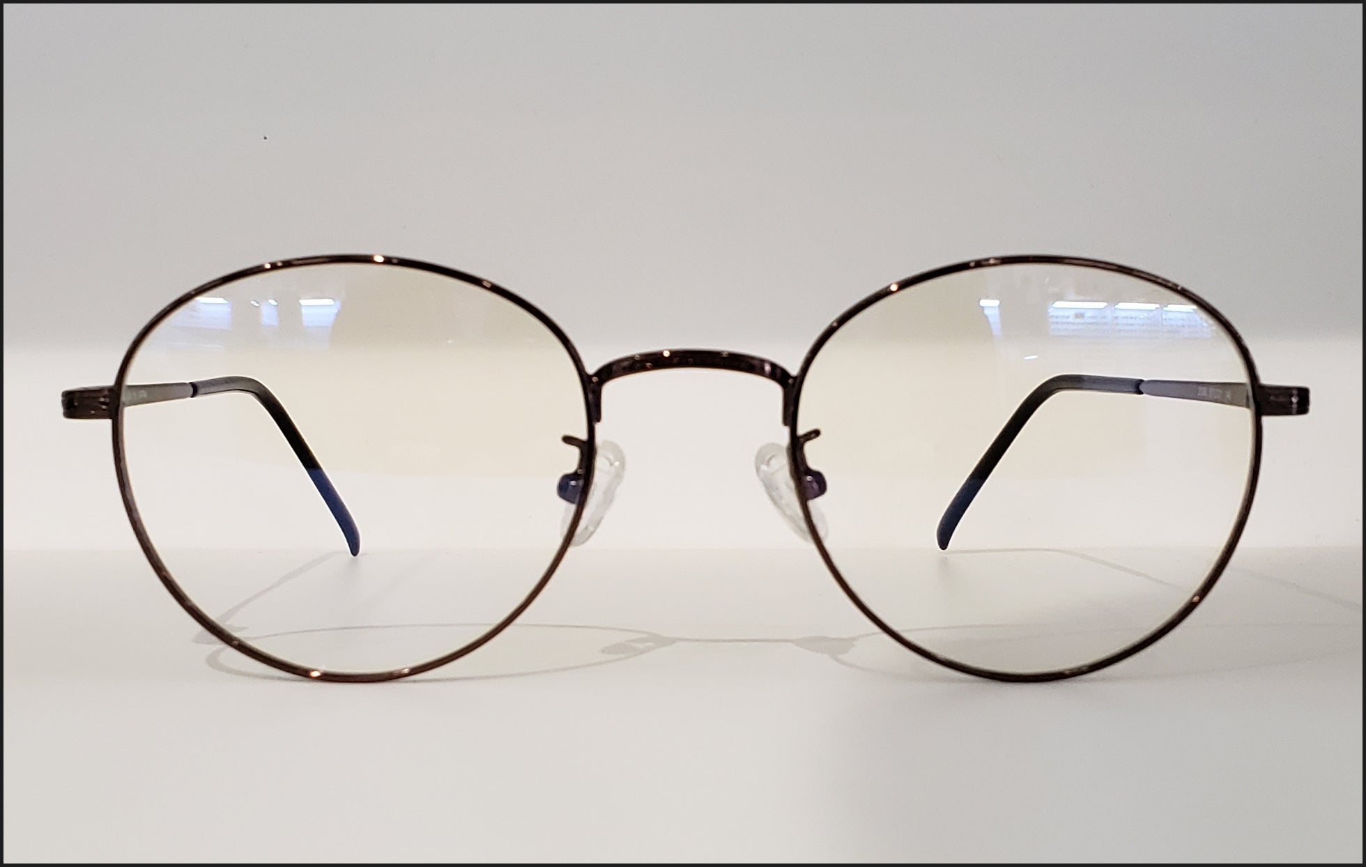 Non-Prescription Blue Blocking Round Glasses