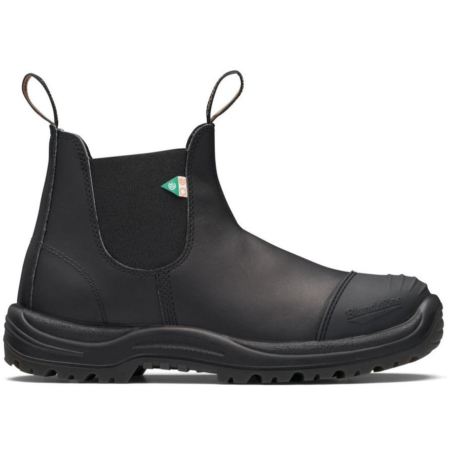 Blundstone 168 - Work & Safety Boot Rubber Toe Cap Black