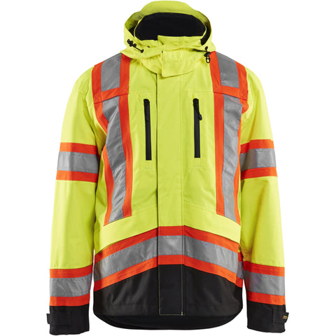Blaklader Hi-Vis Safety Jacket 493819773399 - worknwear.ca