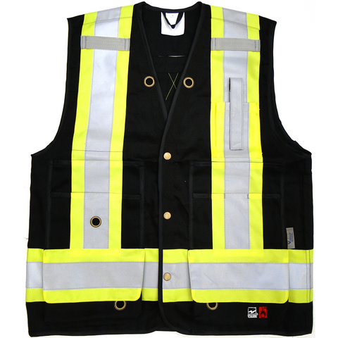 Viking FR Safety Vest 6165FR - worknwear.ca