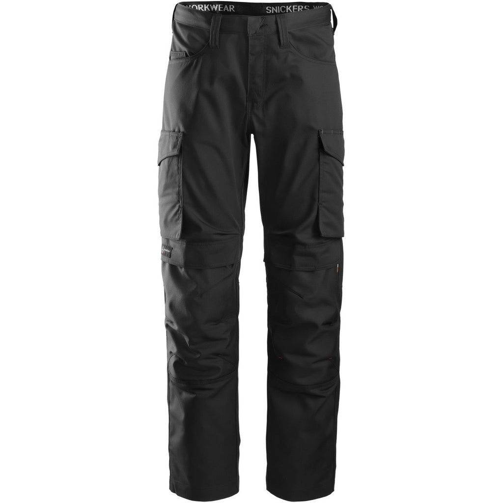 Snickers Service Trousers + Knee Pockets 6801 - worknwear.ca