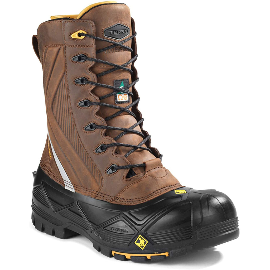 Terra Crossbow XR Composite Toe Men's Winter Safety Work Boots | Brown