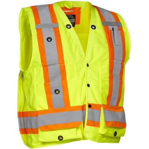 Forcefield Surveyor's Safety Vest 022 - worknwear.ca