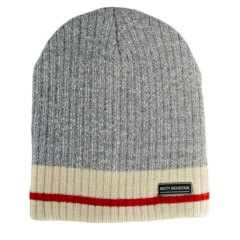 Misty Mountain 4 Layer Grey Sock Hat - worknwear.ca