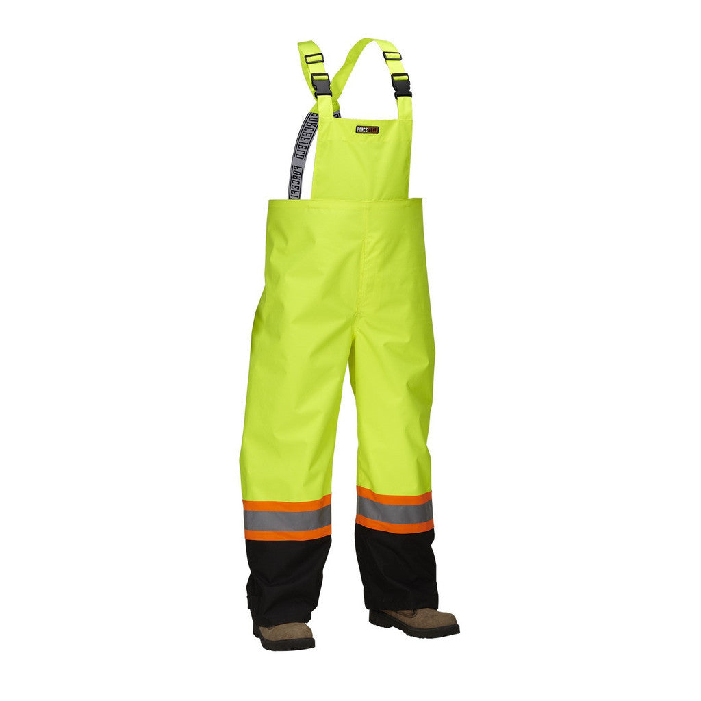 Forcefield Safety Bib Overalls 023-HVRB - worknwear.ca