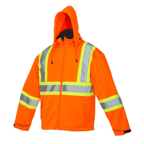 Forcefield Safety Rain Jacket 023-EN147 - worknwear.ca