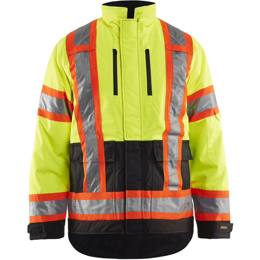 Blaklader Hi-Vis Winter Safety Jacket 492819773399 - worknwear.ca